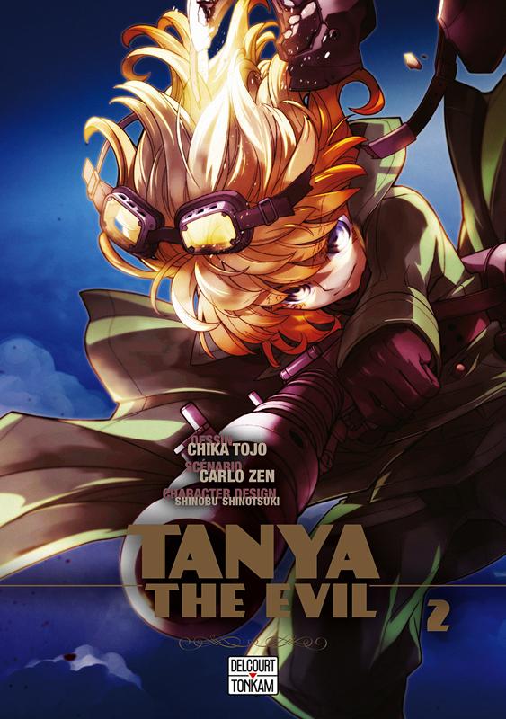 Tanya the evil T2, manga chez Delcourt Tonkam de Carlo, Tôjô