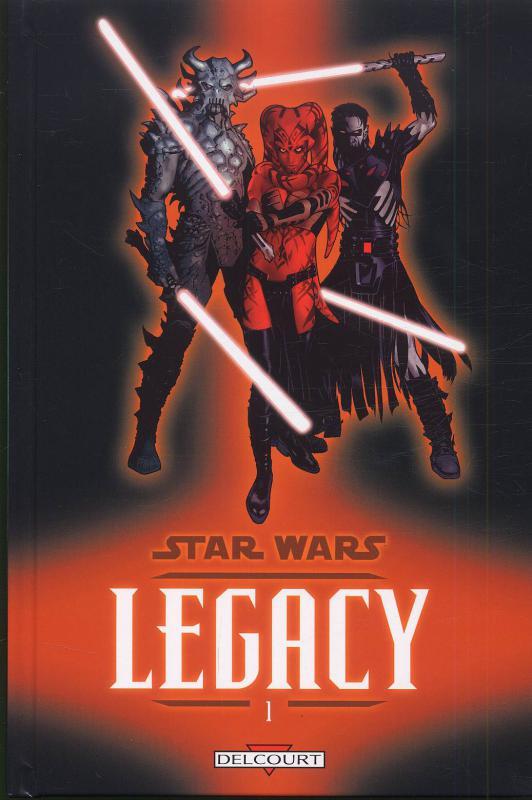 Star Wars Legacy – Legacy, T1 : Anéanti (0), comics chez Delcourt de Ostrander, Duursema, Parsons, Anderson
