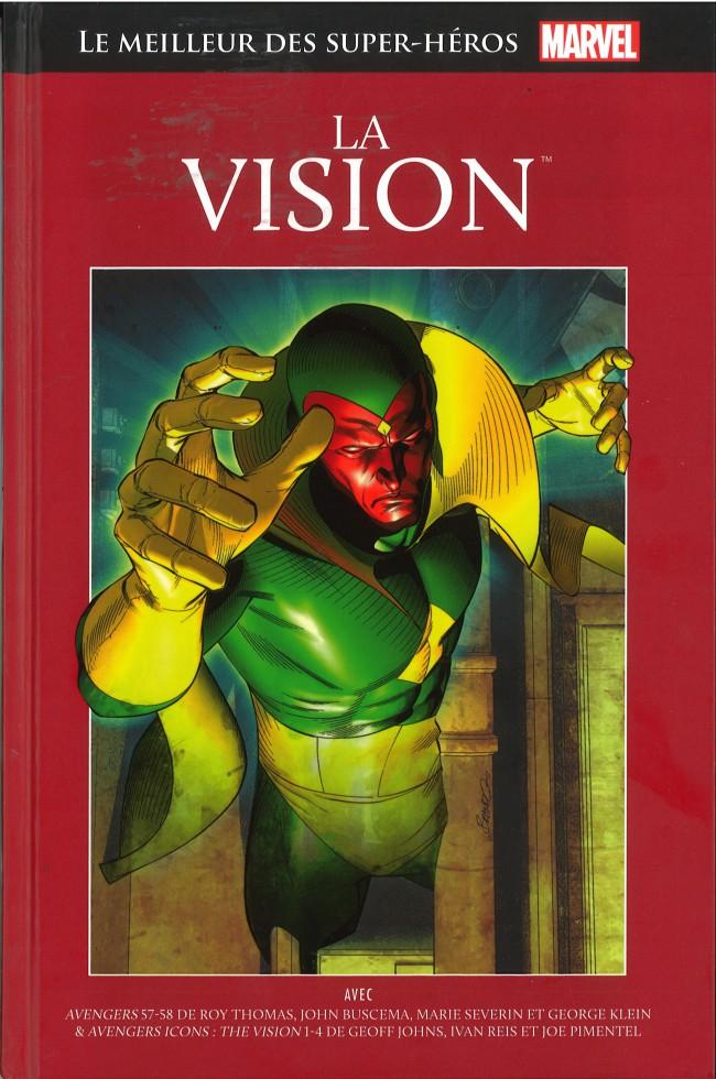 Marvel Comics : le meilleur des super-héros T16 : La Vision (0), comics chez Hachette de Johns, Thomas, Severin, Pimentel, Reis, Klein, Oliver