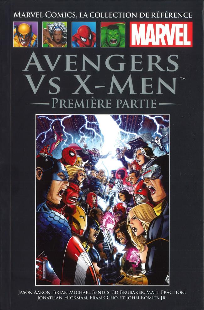 Marvel Comics, la collection de référence T77 : Avengers vs X-Men - Première partie (0), comics chez Hachette de Immonen, Hickman, Bendis, Fraction, Aaron, Brubaker, Immonen, Coipel, Kubert, Cho, Romita Jr, Charalampidis, Molinar, Hollowell, Martin, Keith, Ponsor, Cheung