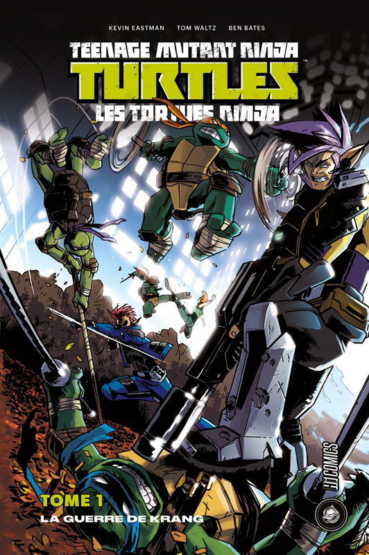 Les Tortues Ninja - TMNT - Teenage Mutant Ninja Turtles T1 : La guerre de Krang (0), comics chez Hi Comics de Waltz, Eastman, Bates, Pattison