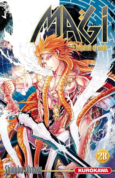 Magi, the labyrinth of magic  T28, manga chez Kurokawa de Ohtaka