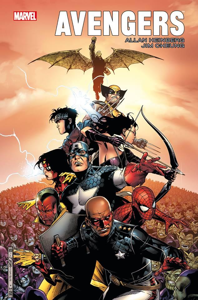 Avengers par Allan Heinberg et Jim Cheung, comics chez Panini Comics de Heinberg, Cheung, Mounts, McCaig