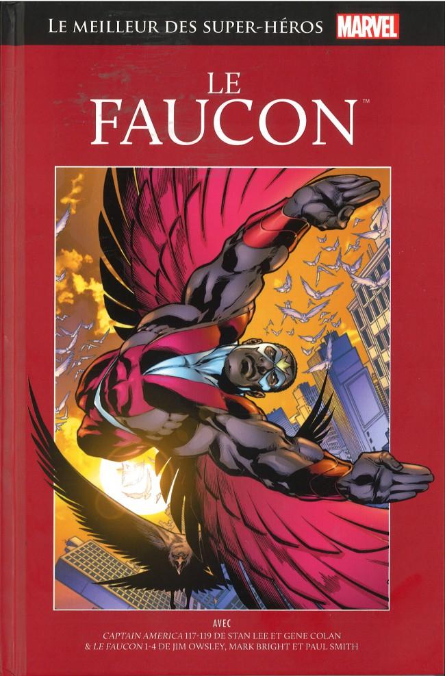 Marvel Comics : le meilleur des super-héros T17 : Le Faucon (0), comics chez Hachette de Lee, Owsley, Bright, Smith, Sinnott, Gustovich, Colan, Colletta, Scheele