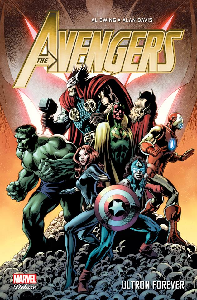 The Avengers - Ultron Forever, comics chez Panini Comics de Ewing, Davis, Rosenberg