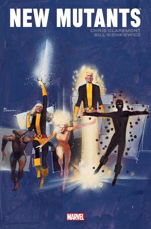 New Mutants, comics chez Panini Comics de Claremont, Wilshire, Sienkiewicz, Leialoha, Leonardi, Scotese, Wein, Higgins