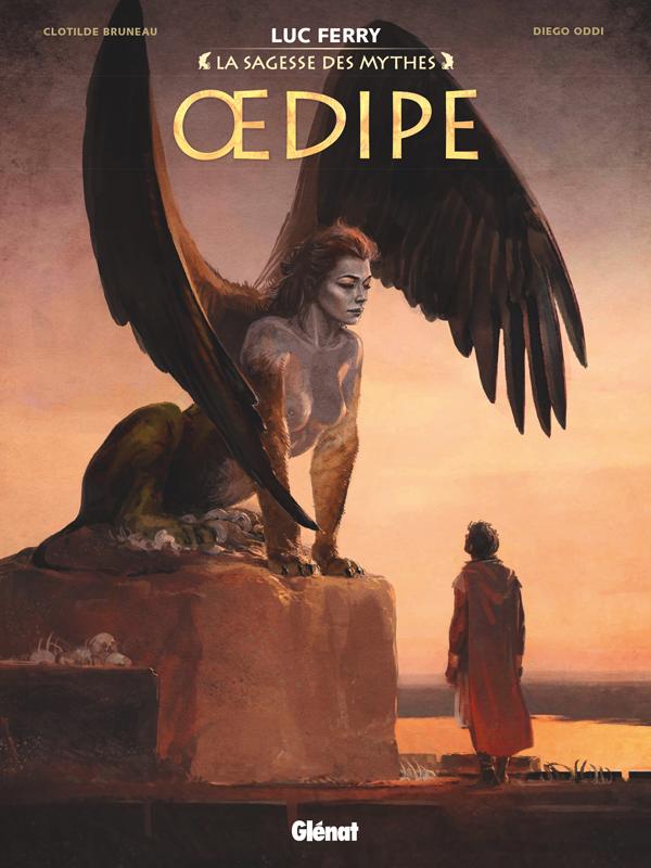 Oedipe, bd chez Glénat de Bruneau, Oddi, Ruby, Vignaux