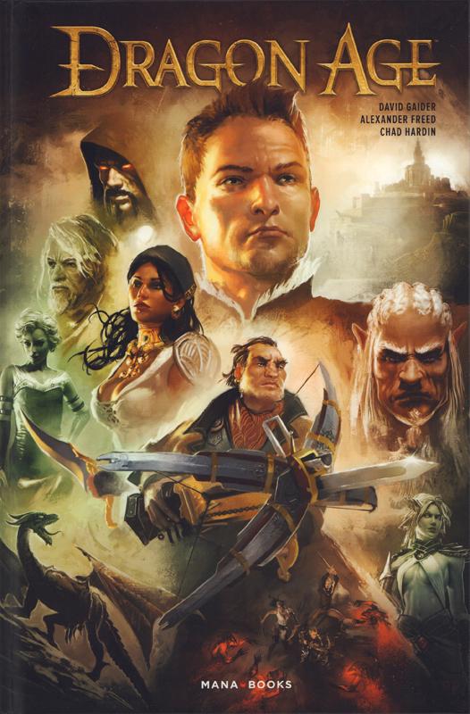 Dragon Age, comics chez Mana Books de Gaider, Freed, Hardin, Palumbo
