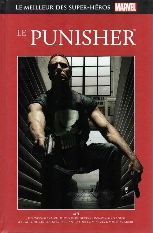 Marvel Comics : le meilleur des super-héros T20 : Le Punisher (0), comics chez Hachette de Duffy, Conway, Grant, Andru, Hunt, Zeck, Giacoia, Vosburg, Beatty, Sharen, Bradstreet