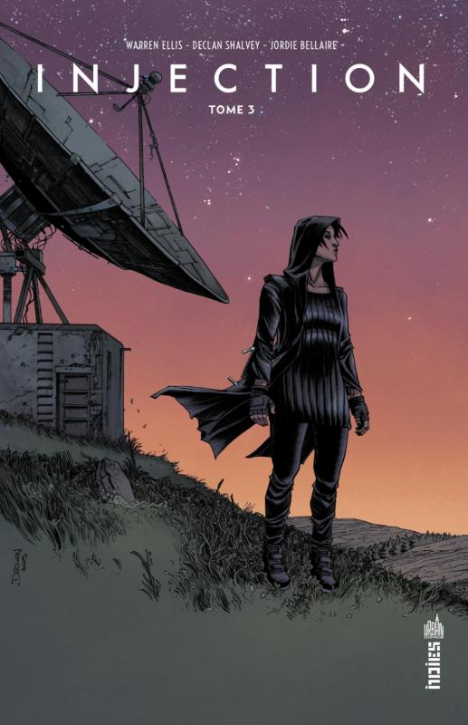 Injection T3, comics chez Urban Comics de Ellis, Shalvey, Bellaire