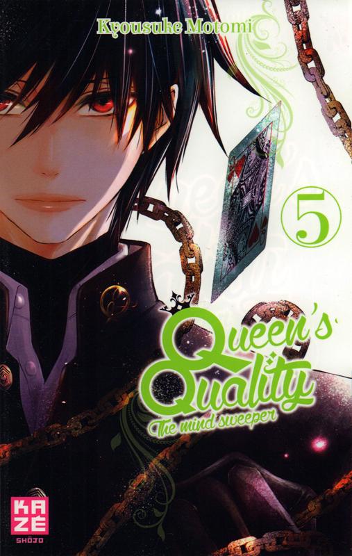 Queen's quality T5, manga chez Kazé manga de Motomi