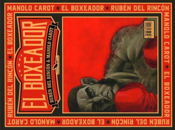 El Boxeador, bd chez Les éditions du Long Bec de Carot, del Rincon