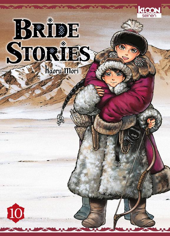 Bride stories T10, manga chez Ki-oon de Mori