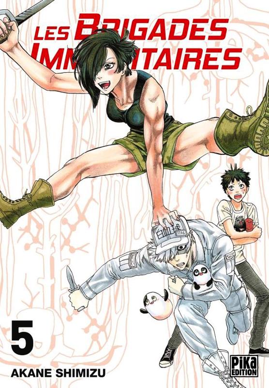 Les brigades immunitaires T5, manga chez Pika de Akane