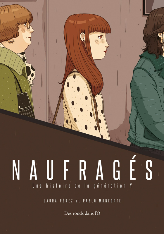 Naufragés, bd chez Des ronds dans l'O de Monforte, Pérez