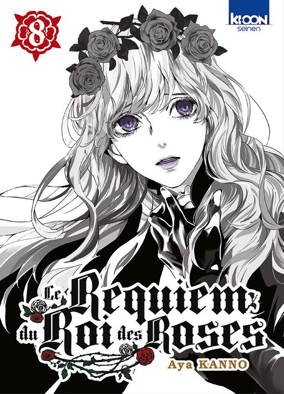 Le Requiem du roi des roses  T8, manga chez Ki-oon de Kanno