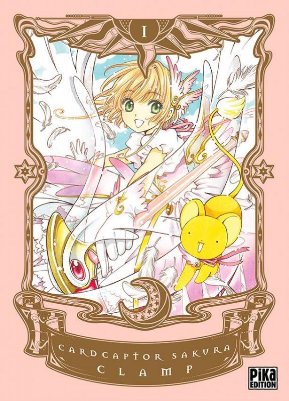 Card captor Sakura T1, manga chez Pika de Clamp