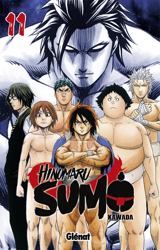 Hinomaru sumo T11, manga chez Glénat de Kawada