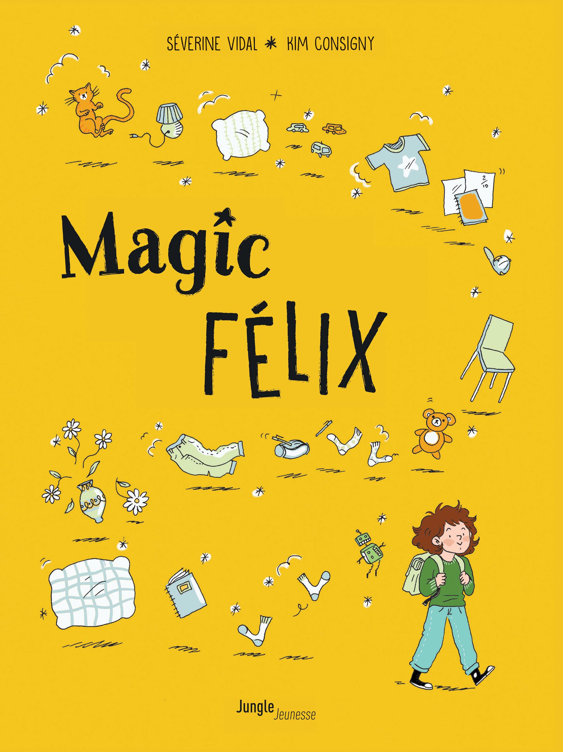 Magic Félix T1, bd chez Jungle de Vidal, Consigny