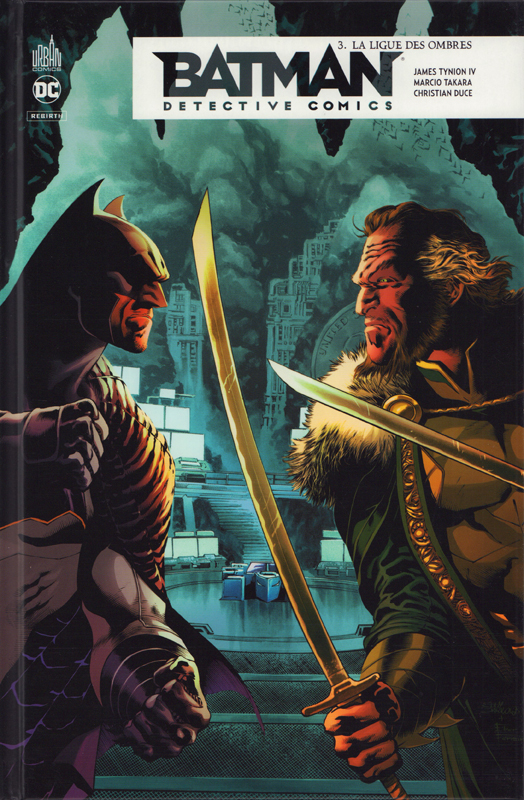 Batman Detective Comics T3 : La ligue des ombres (0), comics chez Urban Comics de Tynion IV, Eddy Barrows, Duce, Blanco, Takara, Martinez, White, Maiolo, Lucas, Sinclair, Anderson, Passalaqua, Rauch, Ferreira