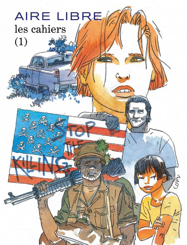 Les Cahiers Aire Libre, bd chez Dupuis de Collectif