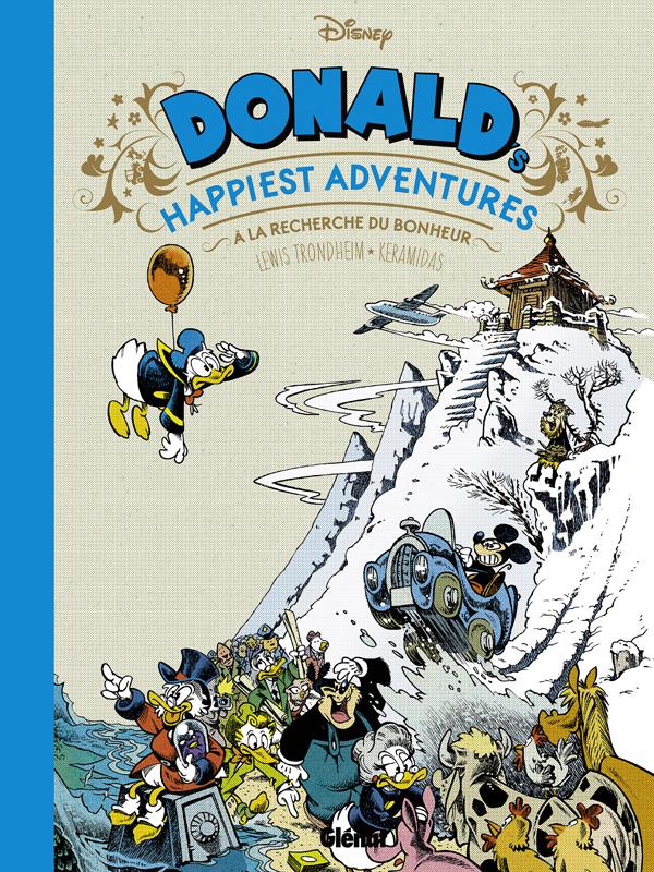 Donald happiest adventures : A la recherche du bonheur (0), bd chez Glénat de Trondheim, Keramidas, Findakly