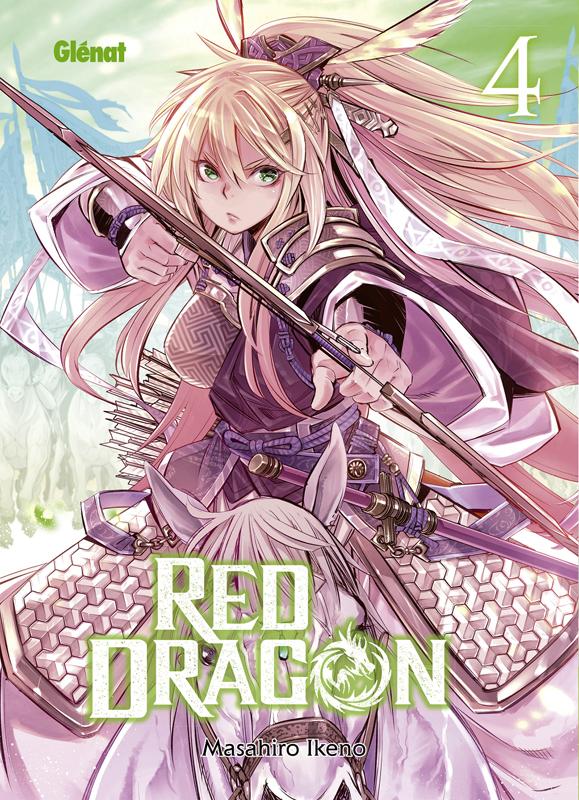 Red dragon T4, manga chez Glénat de Ikeno