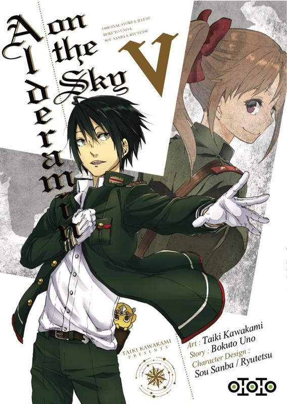 Alderamin on the sky T5, manga chez Ototo de Uno, Kawakami