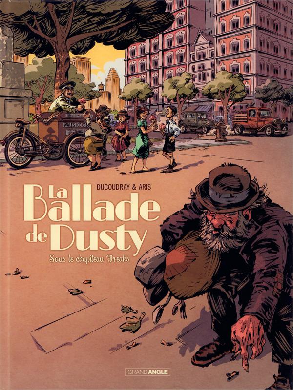La Ballade de Dusty T2 : Sous le chapiteau de Freaks (0), bd chez Bamboo de Ducoudray, Aris, Ralenti