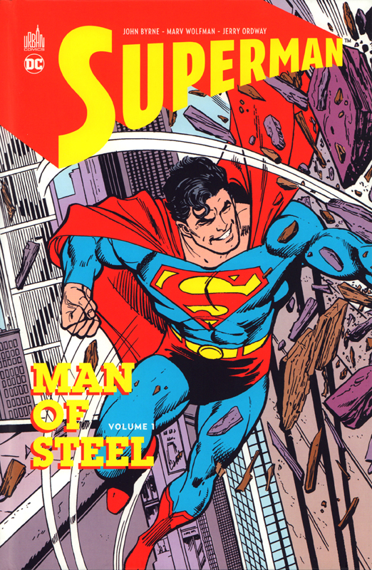 Man of Steel T1 : Man of Steel (0), comics chez Urban Comics de Byrne, Wolfman, Ordway, Ziuko, Tollin, Giordano