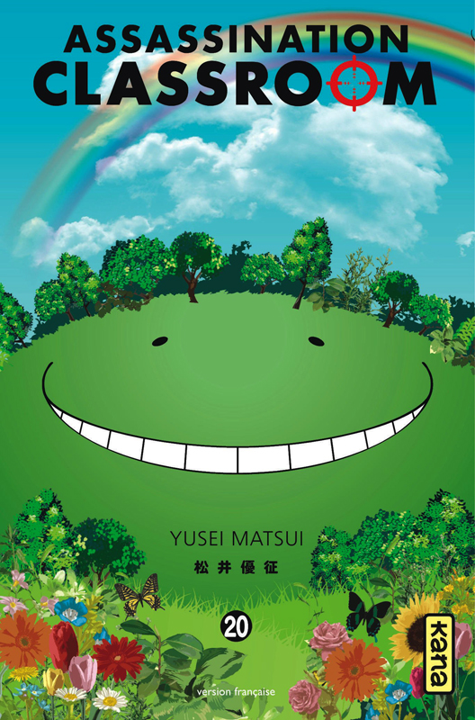 Assassination classroom T20, manga chez Kana de Yusei