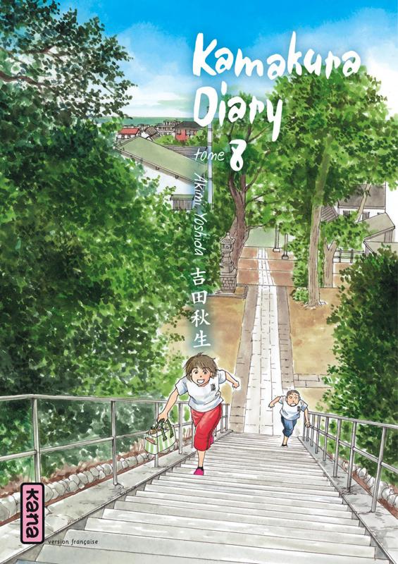 Kamakura diary T8, manga chez Kana de Yoshida