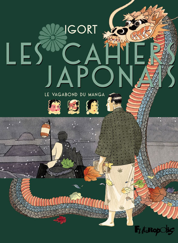Les Cahiers japonais T2, bd chez Futuropolis de Igort