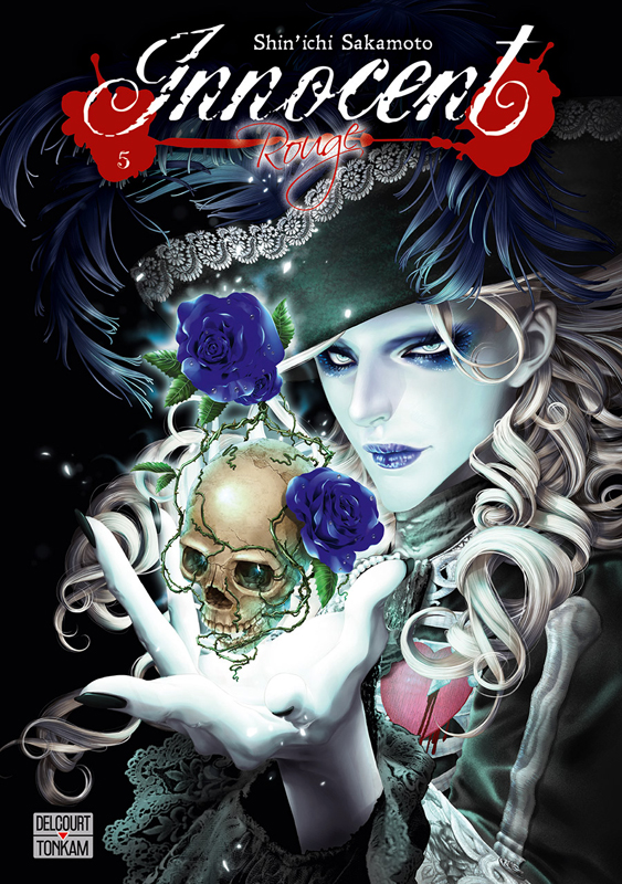 Innocent Rouge T5, manga chez Delcourt Tonkam de Sakamoto