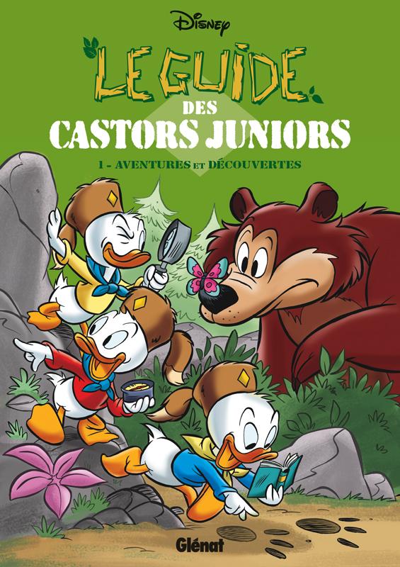 Le Guide des Castors Juniors T1 : Aventures et découvertes (0), bd chez Glénat de Collectif