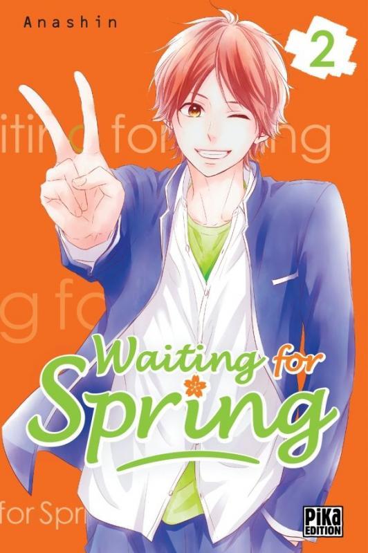 Waiting for spring T2, manga chez Pika de Anashin