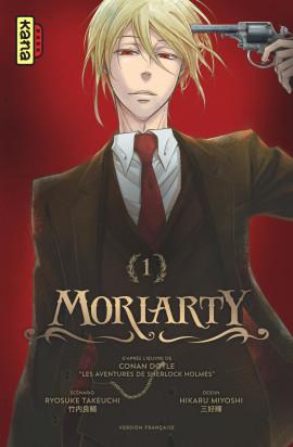 Moriarty T1, manga chez Kana de Takeuchi, Doyle, Miyoshi