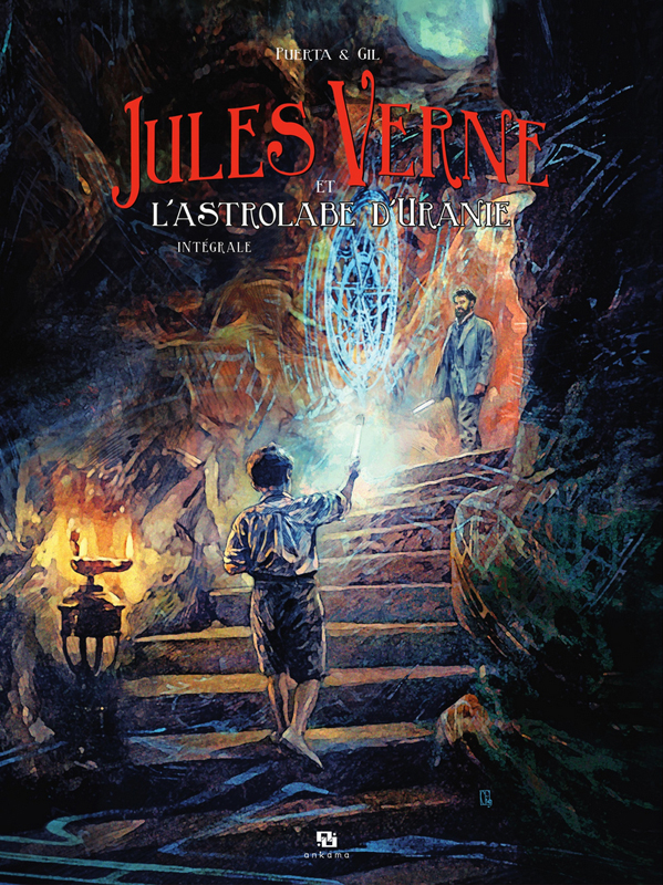 Jules Verne  : L'astrolabe d'Uranie (0), bd chez Ankama de Gil, Puerta