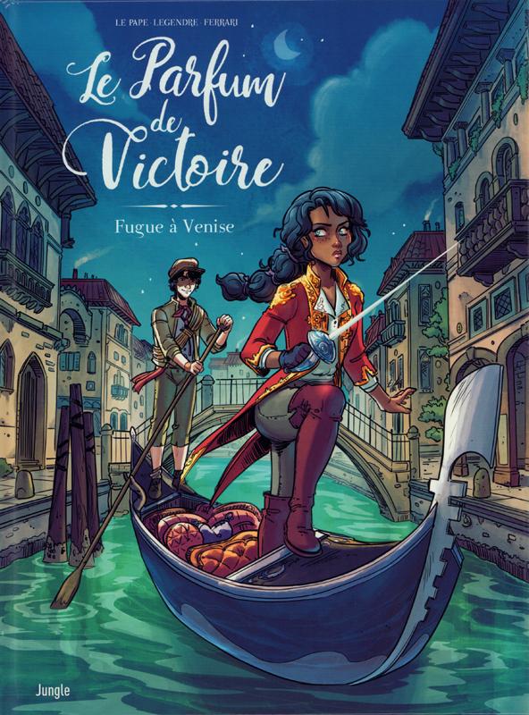 Le Parfum de Victoire T1 : Fugue à Venise (0), bd chez Jungle de Legendre, le Pape, Ferrari