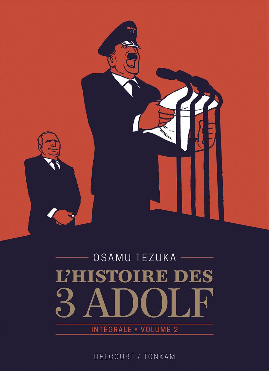 L'histoire des 3 Adolf T2 : Edition prestige (0), manga chez Delcourt Tonkam de Tezuka