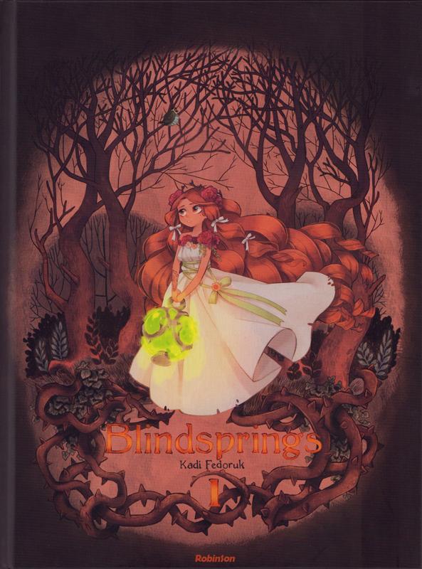 Blindsprings T1, manga chez Hachette de Fedoruk