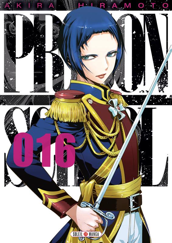 Prison school T16, manga chez Soleil de Hiramoto