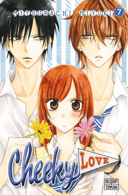 Cheeky love T7, manga chez Delcourt Tonkam de Mitsubachi