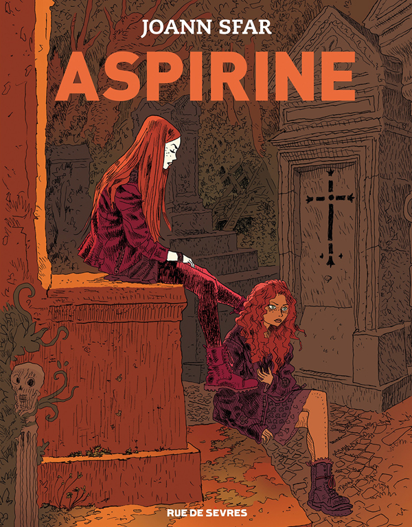Aspirine, bd chez Rue de Sèvres de Sfar, Findakly