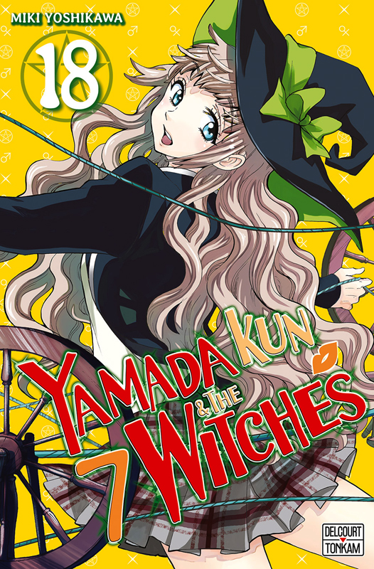 Yamada kun & the 7 witches T18, manga chez Delcourt Tonkam de Yoshikawa