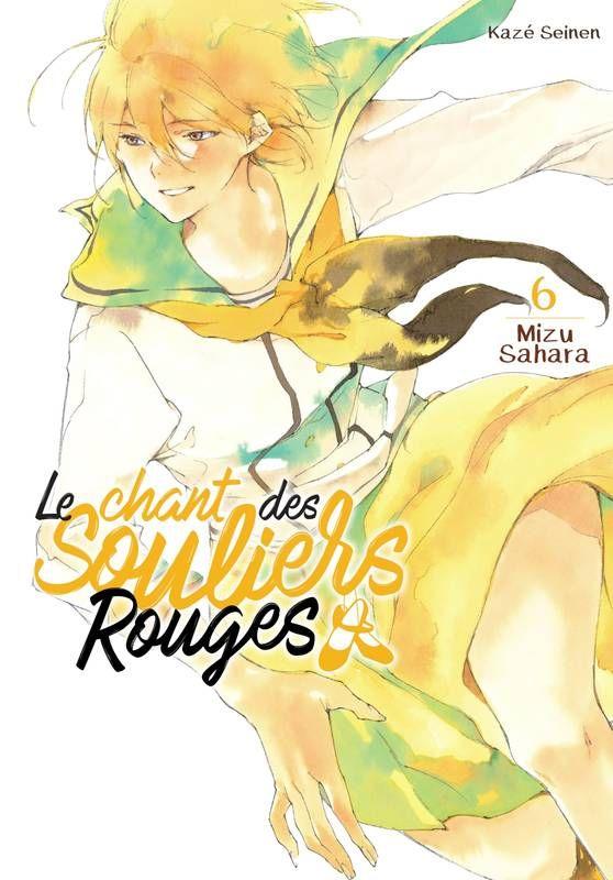 Le chant des souliers rouges T6, manga chez Kazé manga de Sahara