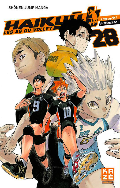 Haikyû, les as du volley T28, manga chez Kazé manga de Furudate