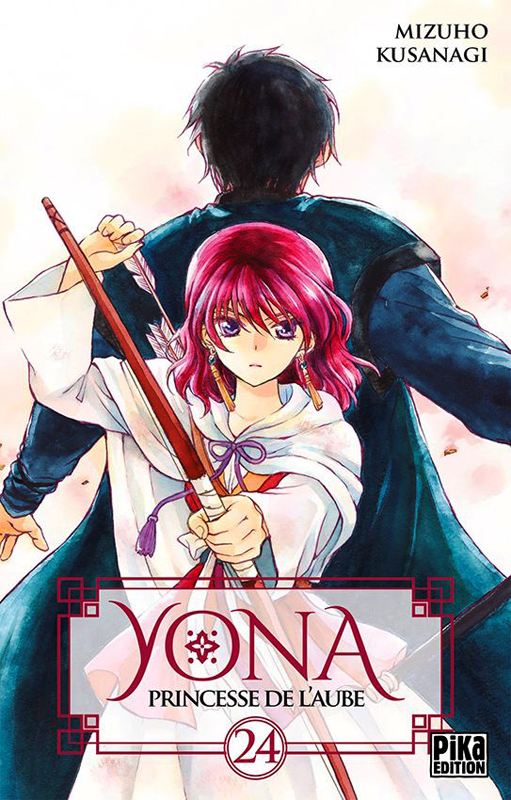 Yona, princesse de l'aube  T24, manga chez Pika de Mizuho