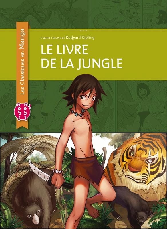 Le livre de la jungle, manga chez Nobi Nobi! de Chan, Kipling, Choy