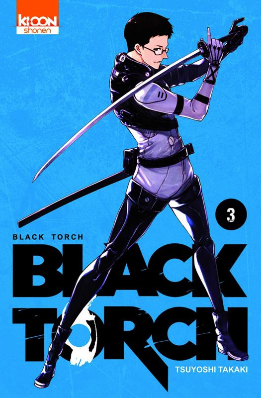 Black torch T3, manga chez Ki-oon de Takaki